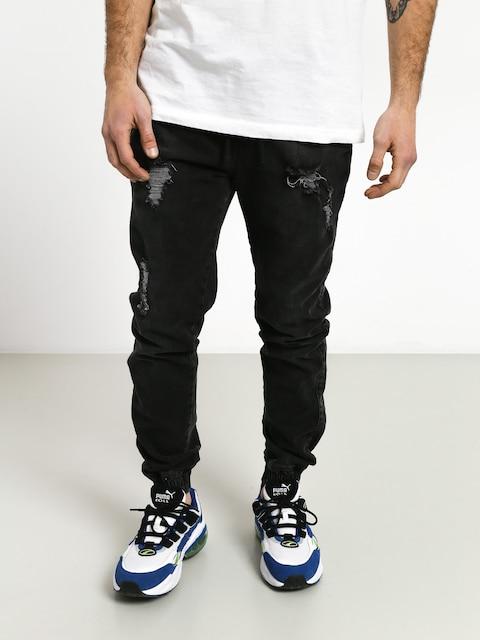 Spodnie Diamante Wear Rm Jeans Jogger (ripped black jeans)