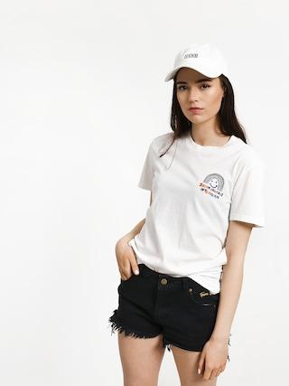 T-shirt Volcom Ozzie Rainbow Wmn (wht)