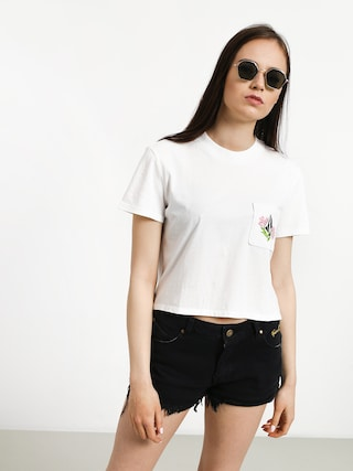 T-shirt Volcom Stone Grown Wmn (wht)