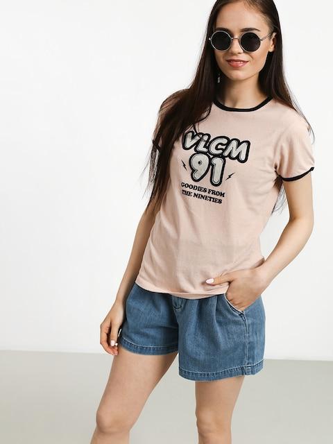 T-shirt Volcom Keep Goin Ringer Wmn