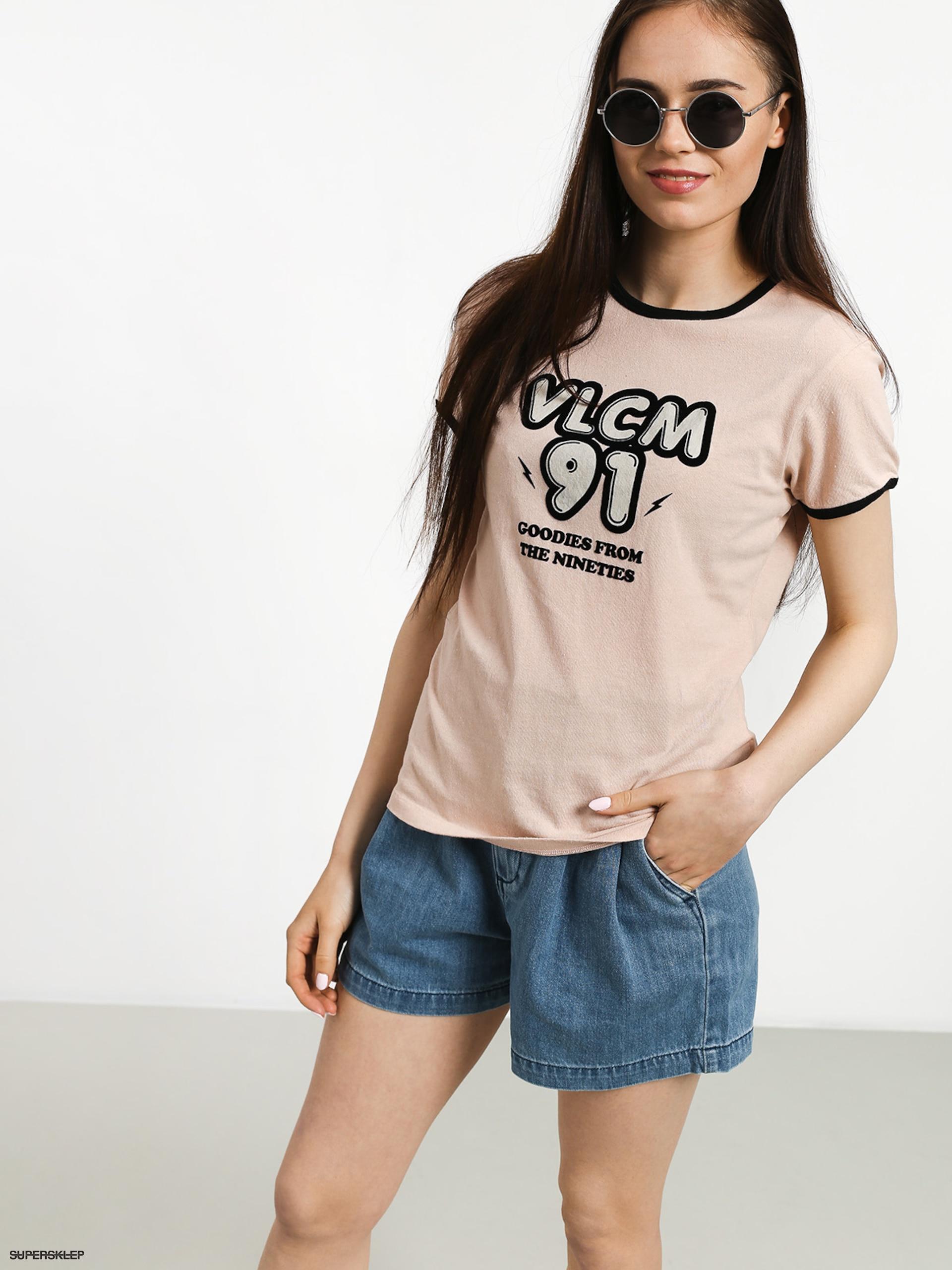 Keeps On Ringing: T-shirt Volcom Keep Goin Ringer Wmn (msh
