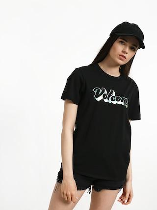 T-shirt Volcom Stone Slick Wmn (blk)
