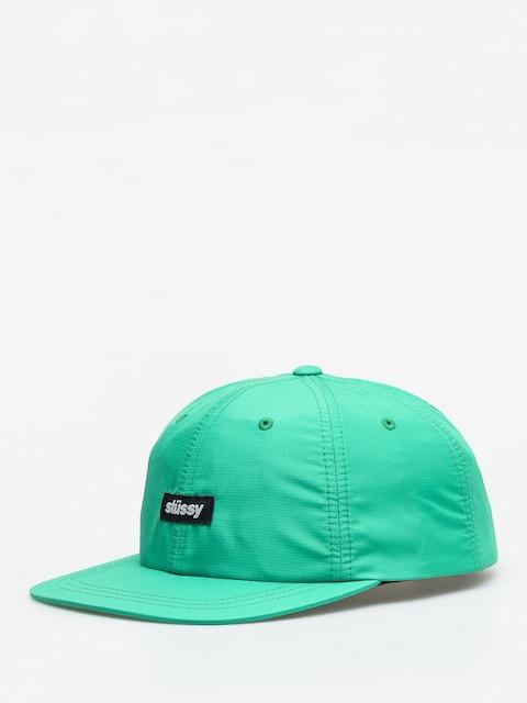 Czapka z daszkiem Stussy Poly Ripstop Low Pro ZD (green)