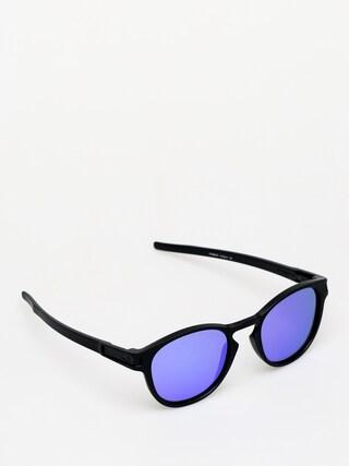 Okulary przeciwsłoneczne Oakley Latch (matte black/violet iridium)