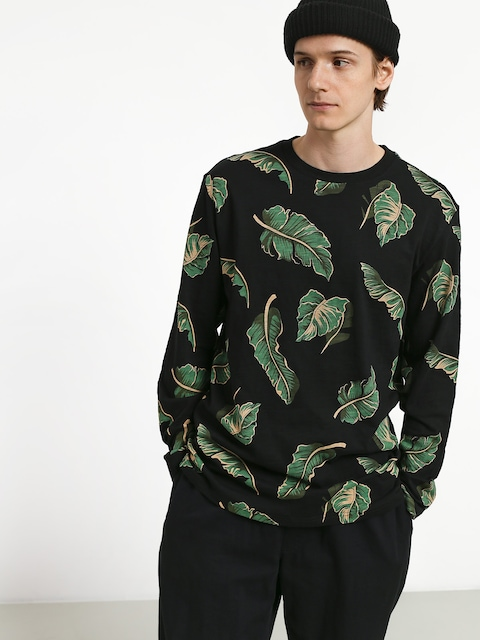 Longsleeve Diamond Supply Co. Tropical Paradise (black)