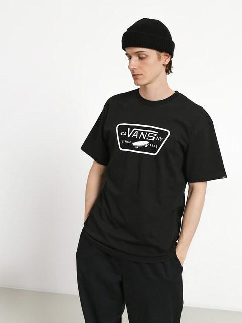 T-shirt Vans Full Patch (black/white)