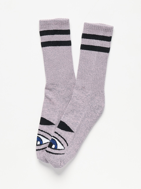 Skarpetki Toy Machine Sect Eye (pink grey heather)