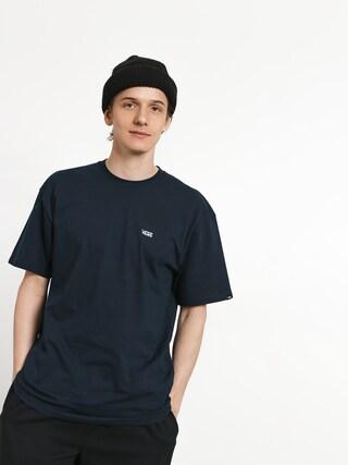 T-shirt Vans Left Chest Logo (navy/white)