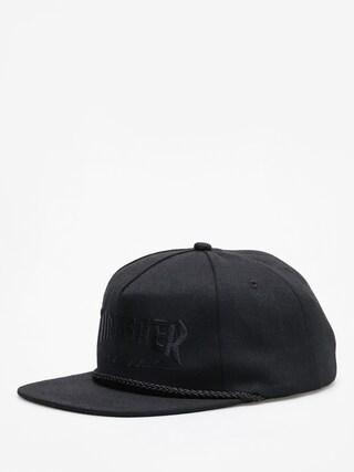 Czapka z daszkiem Thrasher Rope Snap ZD (black/black)