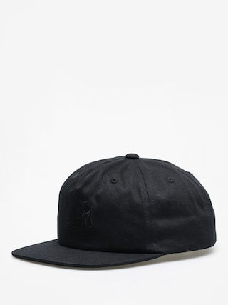 Czapka z daszkiem Carhartt WIP x Pass Port ZD (pass port black)