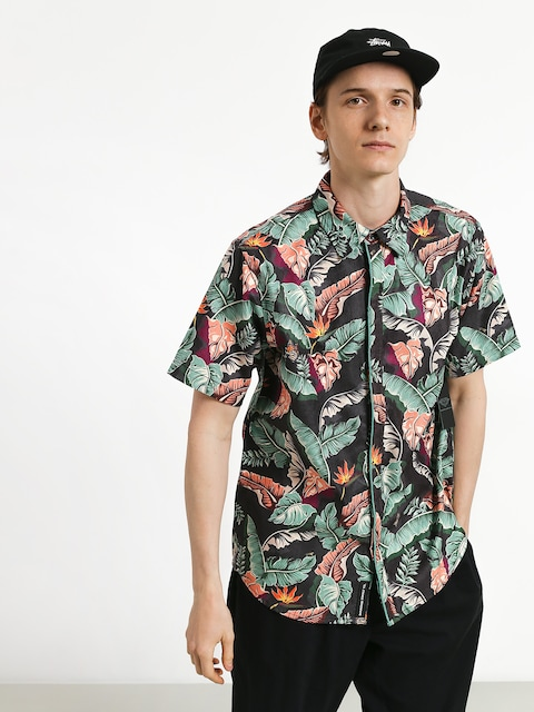 Koszula Diamond Supply Co. Tropical Paradise (black)