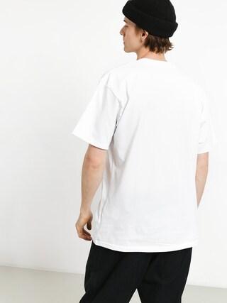 T-shirt Vans Full Patch (white/black)