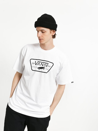 T-shirt Vans Full Patch (white/black)