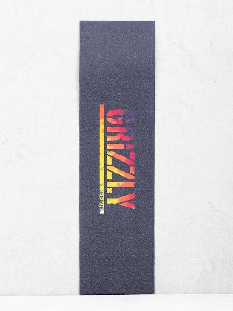 Papier Grizzly Griptape Acid Test Stamp Griptape (tie dye)