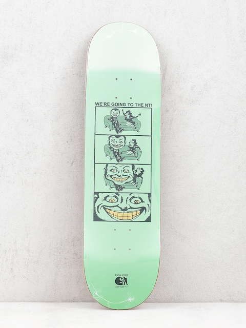 Deck Carhartt WIP We're Going X Pass Port (pastel green)