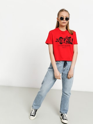 T-shirt Volcom Stone Grown Wmn (red)