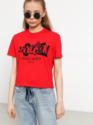 T-shirt Volcom Stone Grown Wmn (red)