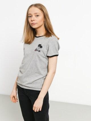 T-shirt Volcom Keep Goin Ringer Wmn (hgr)