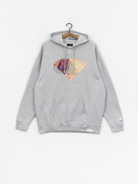 Bluza z kapturem Diamond Supply Co. Trotter HD (heather grey)