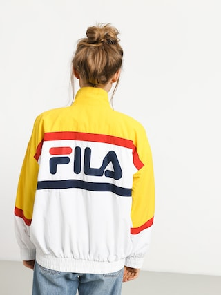 Kurtka Fila Kaya Wmn (empire yellow/bright white/black)