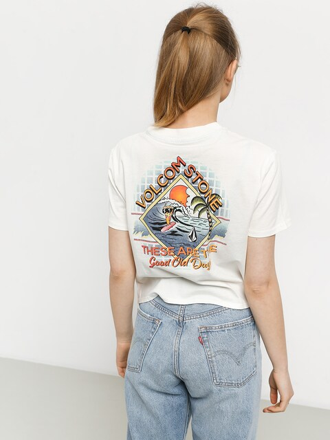 T-shirt Volcom Made From Stoke Wmn