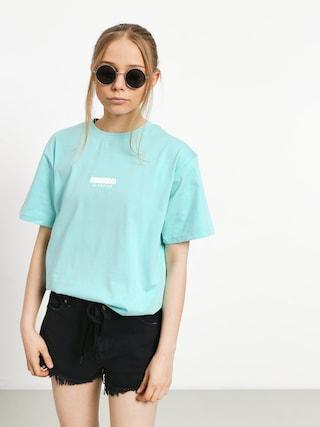 T-shirt MassDnm Classics Small Logo Wmn (mint blue)