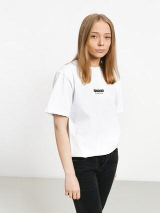 T-shirt MassDnm Classics Small Logo Wmn (white)