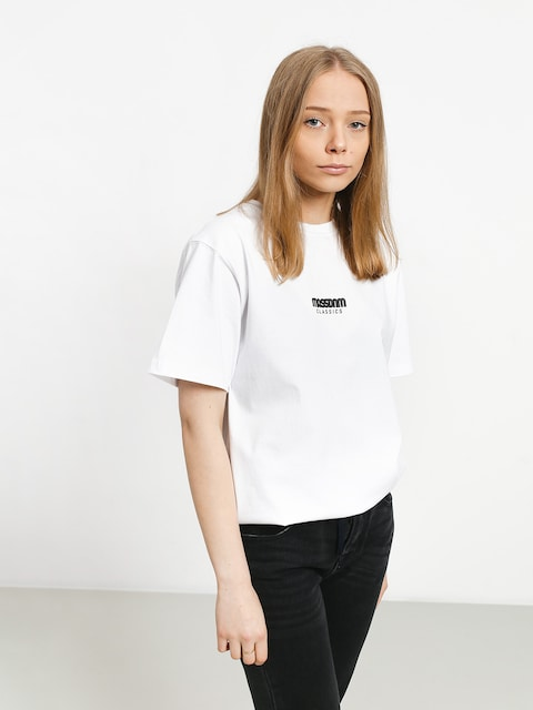 T-shirt MassDnm Classics Small Logo Wmn