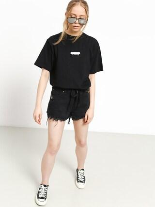 T-shirt MassDnm Classics Small Logo Wmn (black)