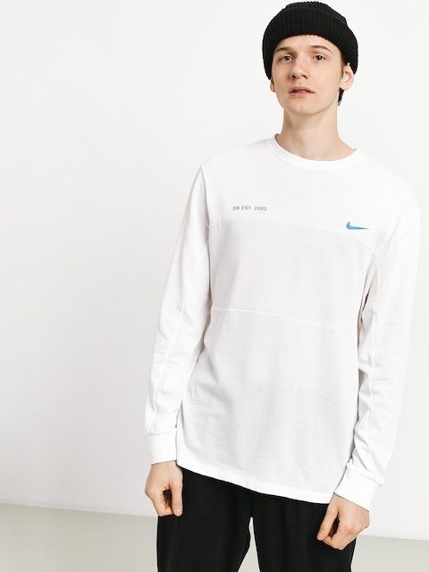 Longsleeve Nike SB Sb Top Mesh (white/photo blue)