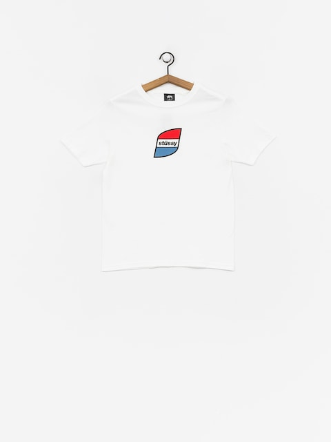 T-shirt Stussy Stripes Wmn (white)