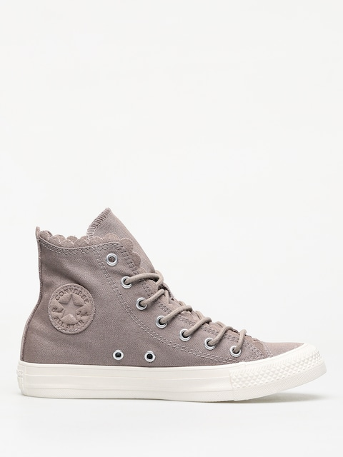 Trampki Converse Frilly Thrills Chuck Taylor All Star Hi Wmn (sepia stone/sepia stone/egret)