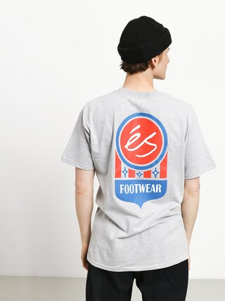 T-shirt Es Court Logo (grey/heather)