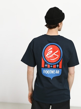 T-shirt Es Court Logo (navy)