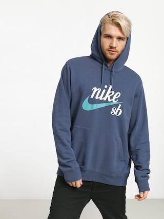 Bluza z kapturem Nike SB Sb Hoodie Washed Icon HD (obsidian/cabana)