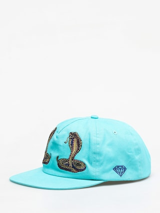 Czapka z daszkiem Diamond Supply Co. Cobra Unstructured Strapback ZD (diamond blue)