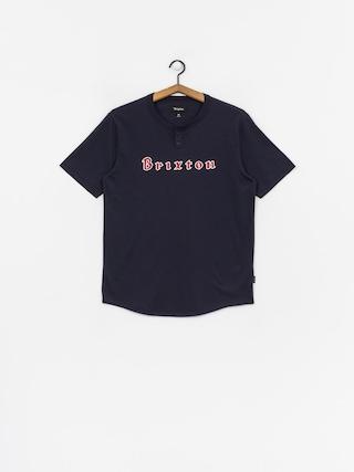 T-shirt Brixton Proxy Henley (navy)