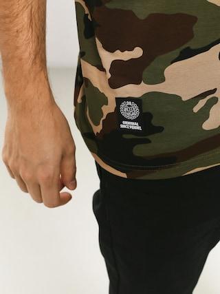 Koszulka MassDnm Top Base (woodland camo)