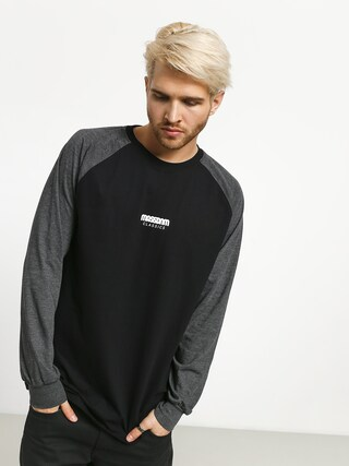 Longsleeve MassDnm Classics Small Logo (black/dark heather grey)