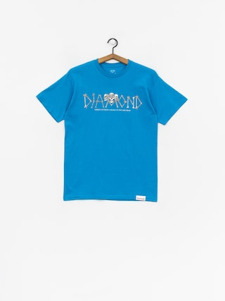 T-shirt Diamond Supply Co. Secrets Die (turquise)