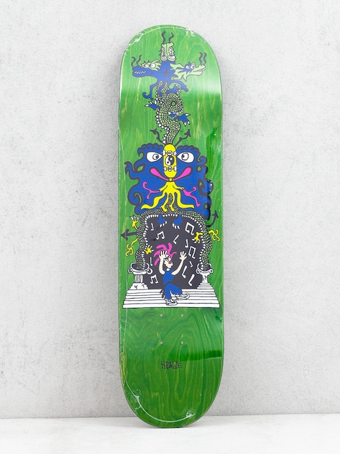 Deck Polar Skate Hjalte Halberg Dragon Gate (green)