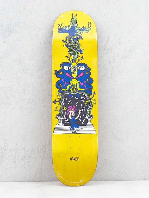 Deck Polar Skate Hjalte Halberg Dragon Gate (yellow)