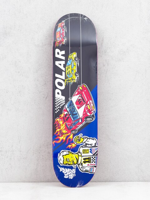 Deck Polar Skate Aaron Herrington Reptilian Racer (black/blue)