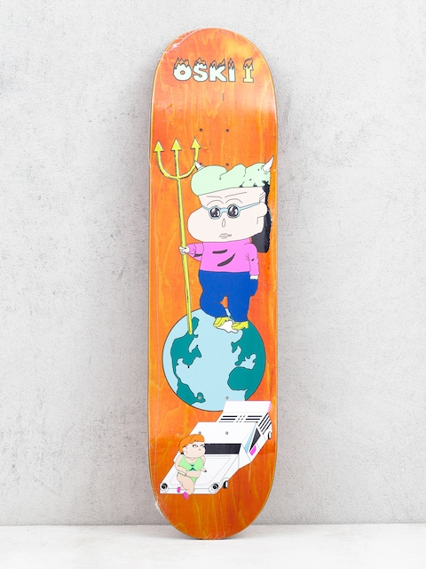 Deck Polar Skate Oskar Rozenberg Oski 1 (orange)