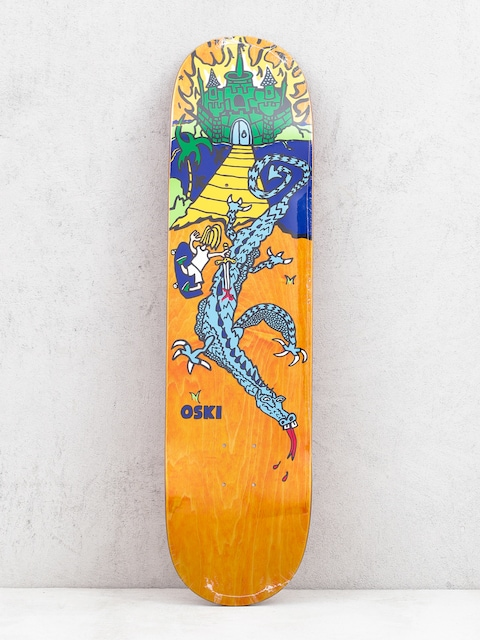 Deck Polar Skate Oskar Rozenberg Castle Hood 2 (orange)