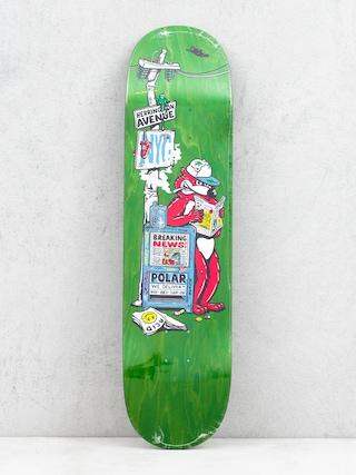 Deck Polar Skate Aaron Herrington Breaking News (green)