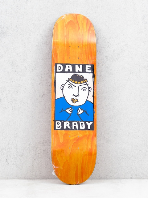 Deck Polar Skate Dane Brady Portrait (orange)