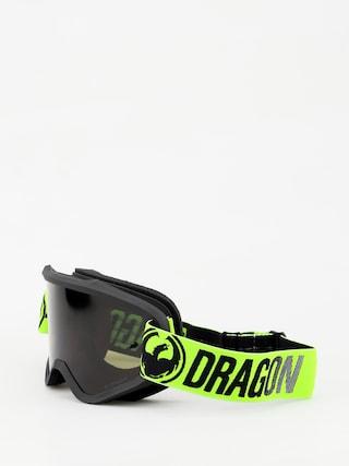 Gogle Dragon MXV (break green/lumalens jet)