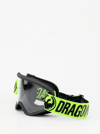 Gogle Dragon MXV (break green/clear)