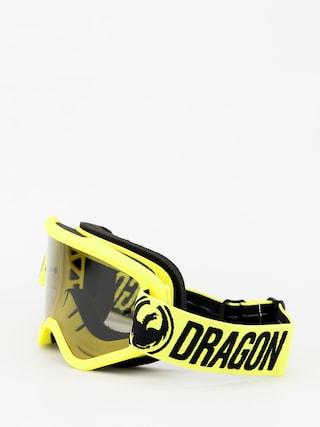 Gogle Dragon MXV (highvis/smoke)